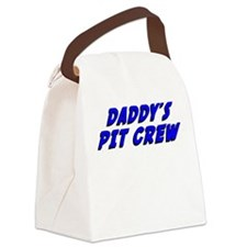 Daddy's Pit Crew Canvas Lunch Bag
