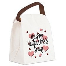 Valentine's Day Canvas Lunch Bag