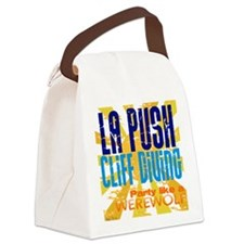 La Push Cliff Diving Canvas Lunch Bag