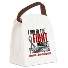 In The Fight 1 PD (Grandpa) Canvas Lunch Bag