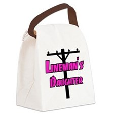 Lineman's daughter Canvas Lunch Bag