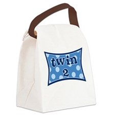 Twin Two Canvas Lunch Bag