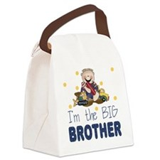 I'm the Big Brother Canvas Lunch Bag