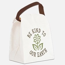 Be Kind to Our Earth Canvas Lunch Bag