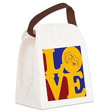 Drama Love Canvas Lunch Bag