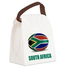 Cute South african rugby Canvas Lunch Bag