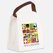 Vive la Raclette! Canvas Lunch Bag