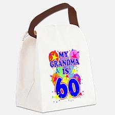 GRANDMA 60 Canvas Lunch Bag