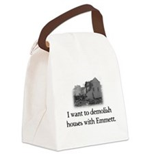 Unique Emmett Canvas Lunch Bag