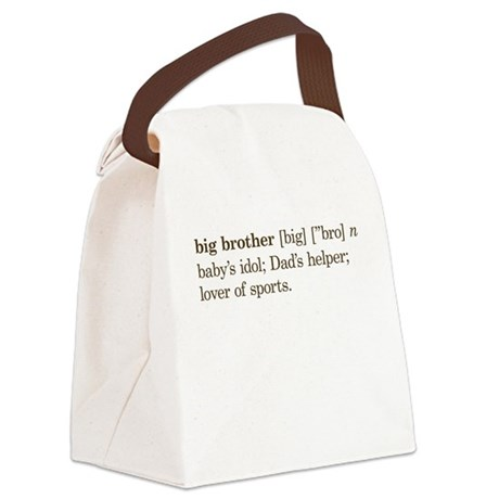 Big Brother Definition - Canvas Lunch Bag