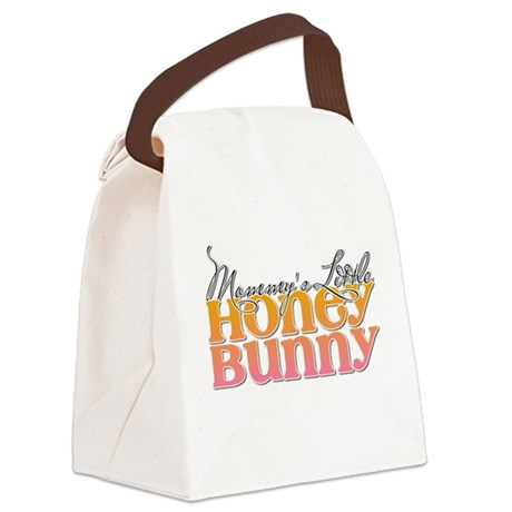Mommy's Honey Bunny Canvas Lunch Bag