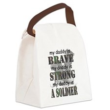 My Daddy is a Soldier Canvas Lunch Bag