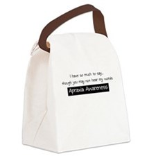 Apraxia Awareness - Canvas Lunch Bag