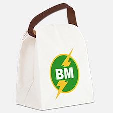 BM Best Man Canvas Lunch Bag