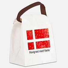 Rodgrod med flode Canvas Lunch Bag