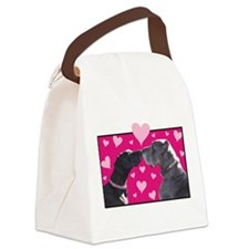 Eve and Levi Gibson Canvas Lunch Bag