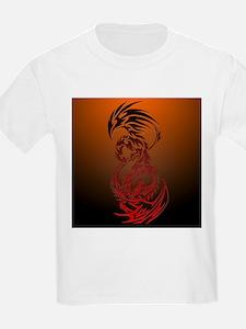 dragon vs phoenix T-Shirt