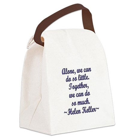 Together Canvas Lunch Bag