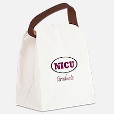 NICU Graduate Canvas Lunch Bag