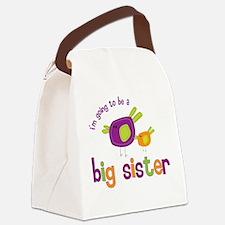 big sister t-shirts birdie Canvas Lunch Bag