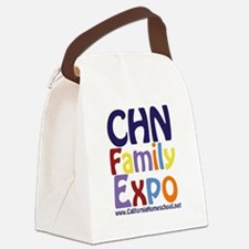 Cute Family expo Canvas Lunch Bag