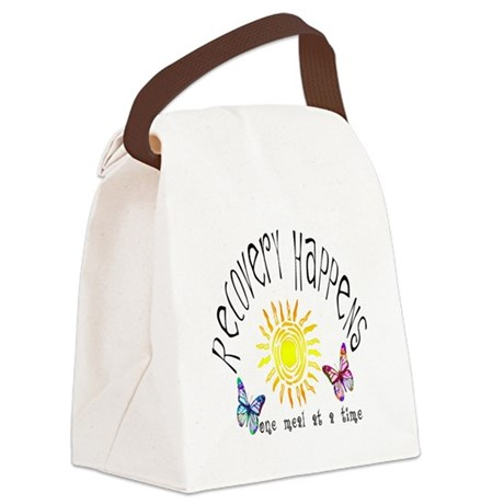 Recovery Happens Canvas Lunch Bag