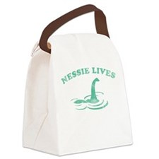 Nessie Lives Canvas Lunch Bag