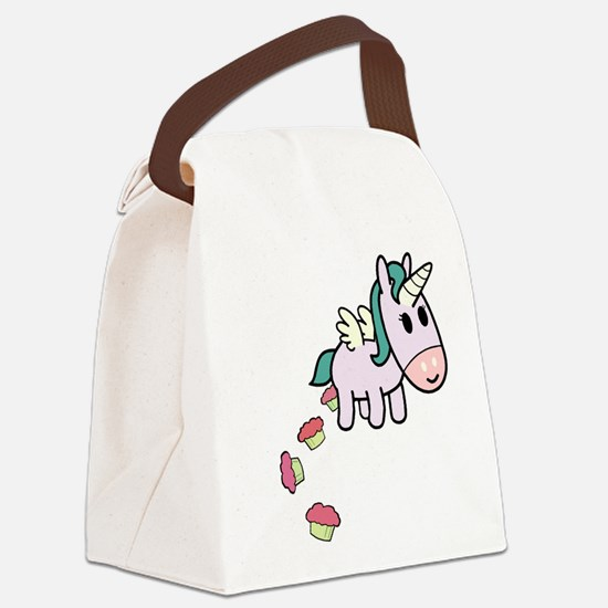Unicorn Sweets Canvas Lunch Bag
