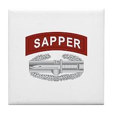 Sapper CAB Tile Coaster