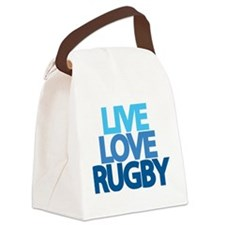 Live Love Rugby Canvas Lunch Bag