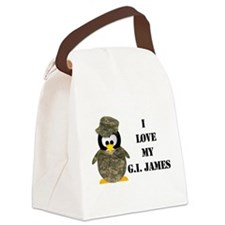 Pick Up For: Gina Canvas Lunch Bag