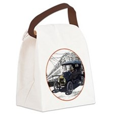 The Touring T Canvas Lunch Bag