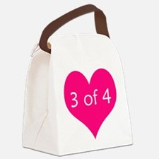 3 of 4 Canvas Lunch Bag