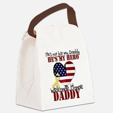 He's not just My Daddy Canvas Lunch Bag