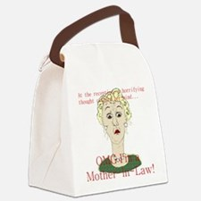 OMG I'm a Mother In Law Canvas Lunch Bag