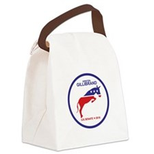 Kirsten Gillibrand Canvas Lunch Bag