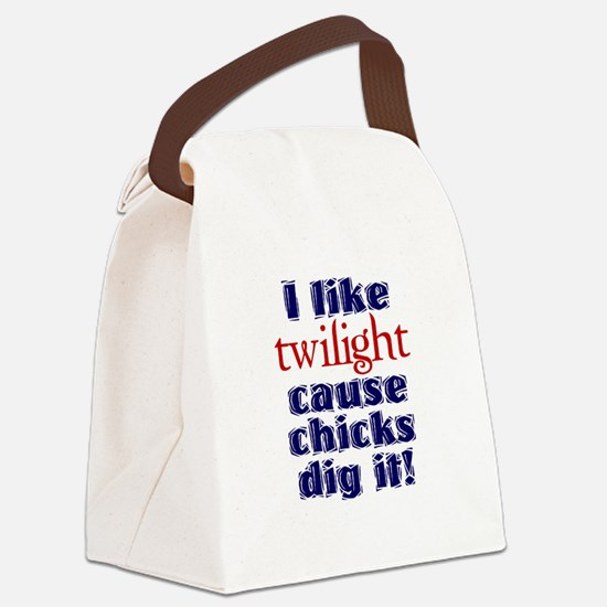 Twilight chicks dig it Canvas Lunch Bag
