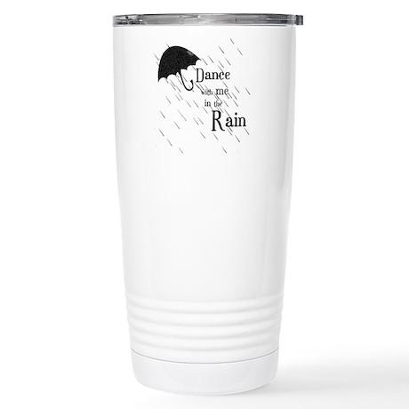 Rain Dance Stainless Steel Travel Mug