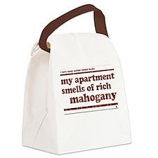 Mahogany Canvas Lunch Bag
