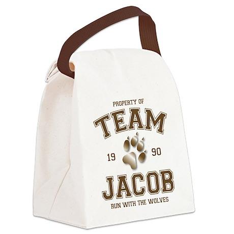 Twilight Team Jacob Canvas Lunch Bag