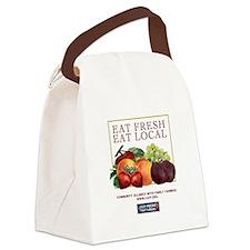Eat Fresh Canvas Lunch Bag