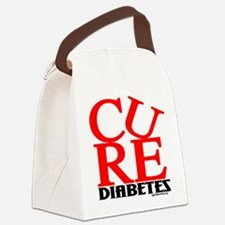 Red Cure Canvas Lunch Bag