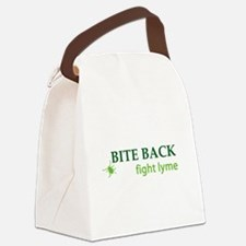 Bite Back: Fight Lyme Canvas Lunch Bag