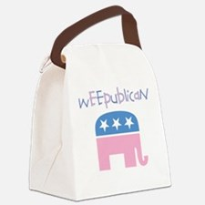 Weepublican Canvas Lunch Bag