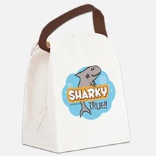 Funny Sharky Canvas Lunch Bag
