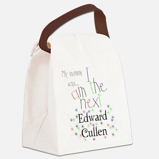 The Next Edward Cullen Canvas Lunch Bag
