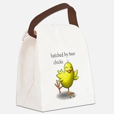 hatched by two chicks Canvas Lunch Bag