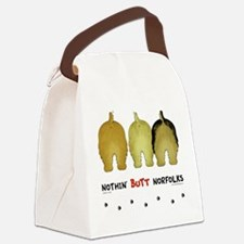 Nothin' Butt Norfolks Canvas Lunch Bag