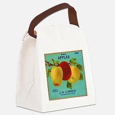 Vintage Fruit & Vegetable Lab Canvas Lunch Bag