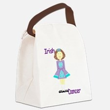 Cute Irish dancer Canvas Lunch Bag